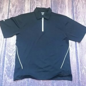 PING Collectionmen's golf / tennis polo black sz M
